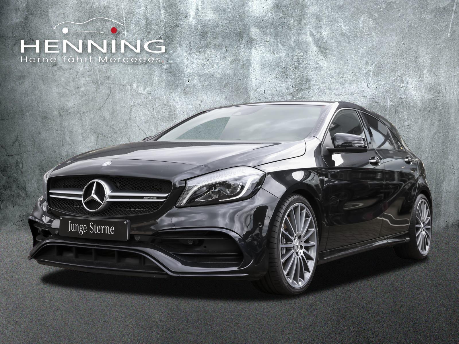 Mercedes-Benz A 45 AMG 4Matic Memory AbGasanl. Harman-Kardon, Jahr 2017, Benzin
