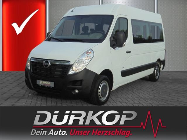 Opel Movano B Combi HKb L2H2 2.3 CDTI AHK Klima Tempomat, Jahr 2013, Diesel