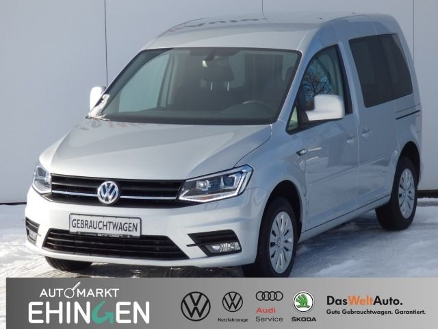 Volkswagen Caddy 2.0 TDI Kasten Xenon Sitzh. Kamera Klima Fenster 2 Schiebetüre, Jahr 2017, Diesel