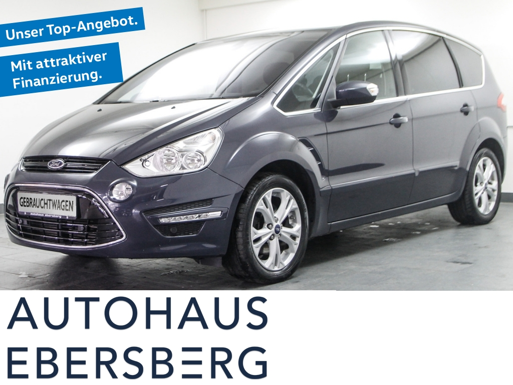 Ford S-Max 1.6 EcoBoost Titanium Business Bluetooth, Jahr 2014, Benzin