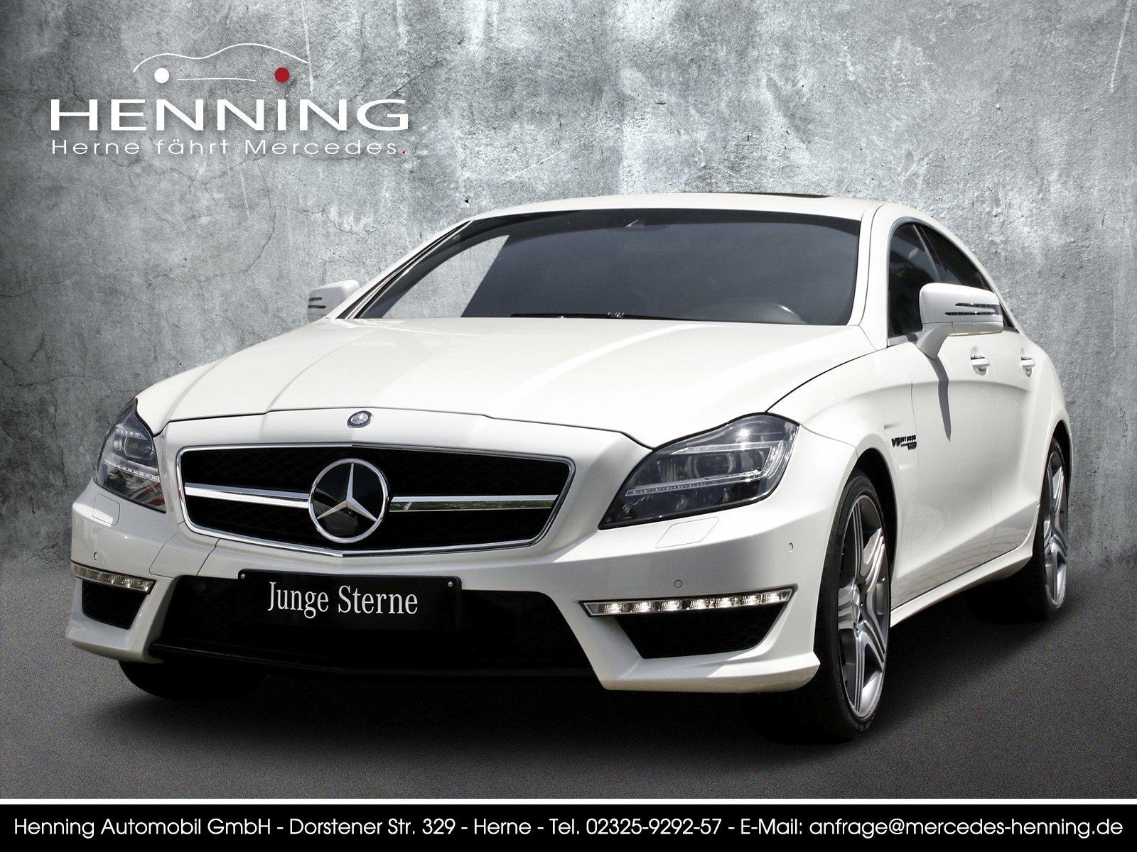 Mercedes-Benz CLS 63 AMG COMAND Memory Abgasanl. Distronic+, Jahr 2013, petrol