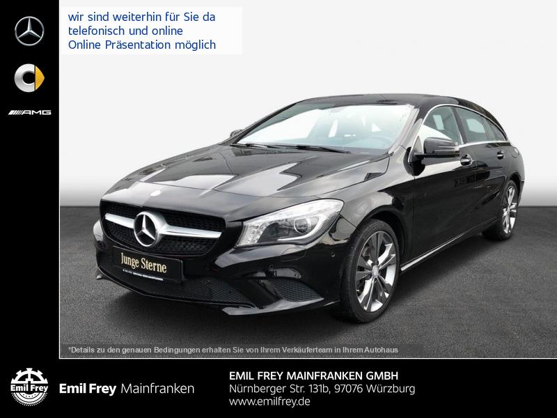 Mercedes-Benz CLA 200 SB Urban+Bi-Xenon+AHK+Navi+Sitzhzg, Jahr 2015, Benzin