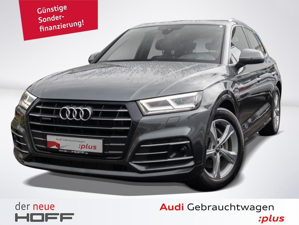 Audi Q5 55 e quattro S line B u. O Matrix Head UP, Jahr 2019, Benzin