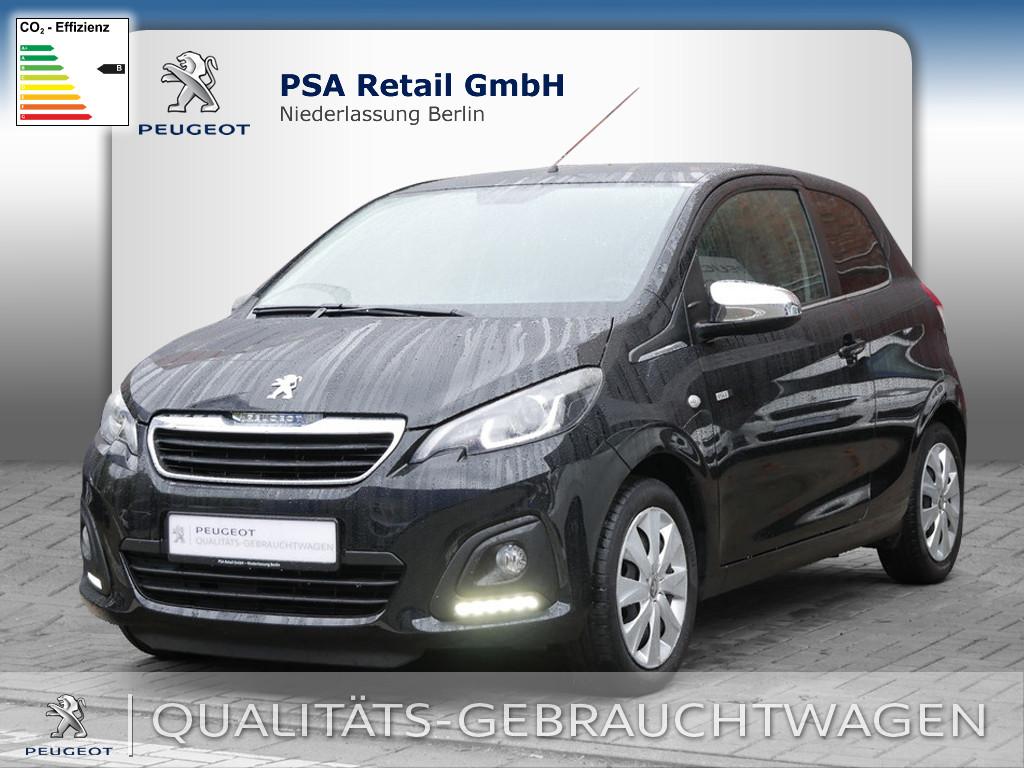 Peugeot 108 Top Style 68 VTi, Jahr 2016, Benzin