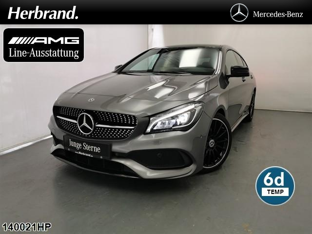 Mercedes-Benz CLA 180 Shooting Brake AMG Line Night Pano-SD.., Jahr 2018, Benzin