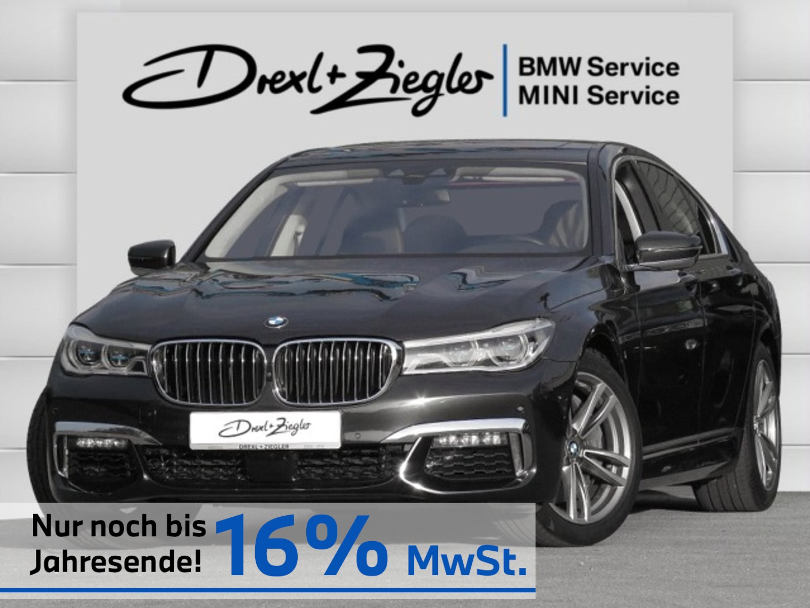 BMW 750i xDrive M Sport DAB HUD Laser GSD H&K SCA, Jahr 2017, Benzin