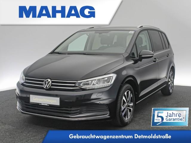Volkswagen Touran UNITED 2.0 TDI 7-Sitzer Navi LED AppConnect ACC FrontAssist Sprachbed. LightAssist DSG, Jahr 2020, Diesel