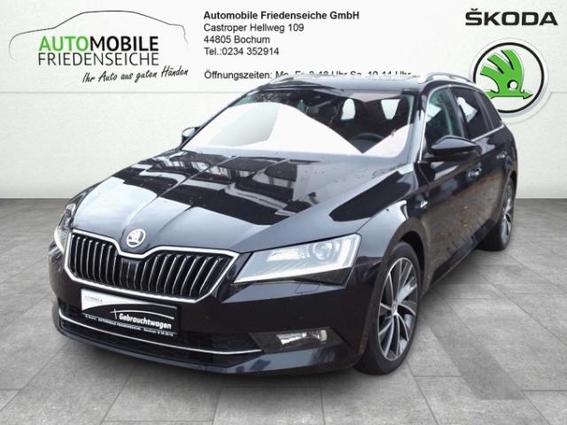 Skoda Superb Combi L&K 4x4 2.0 TDI EURO 6 Leder Navi StandHZG Keyless AD ACC Parklenkass., Jahr 2016, Diesel
