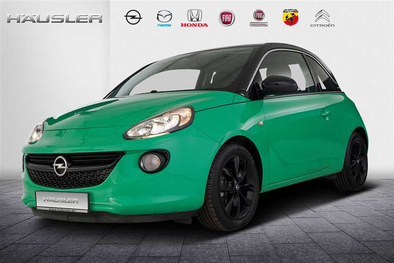Opel Adam, Jahr 2015, Benzin