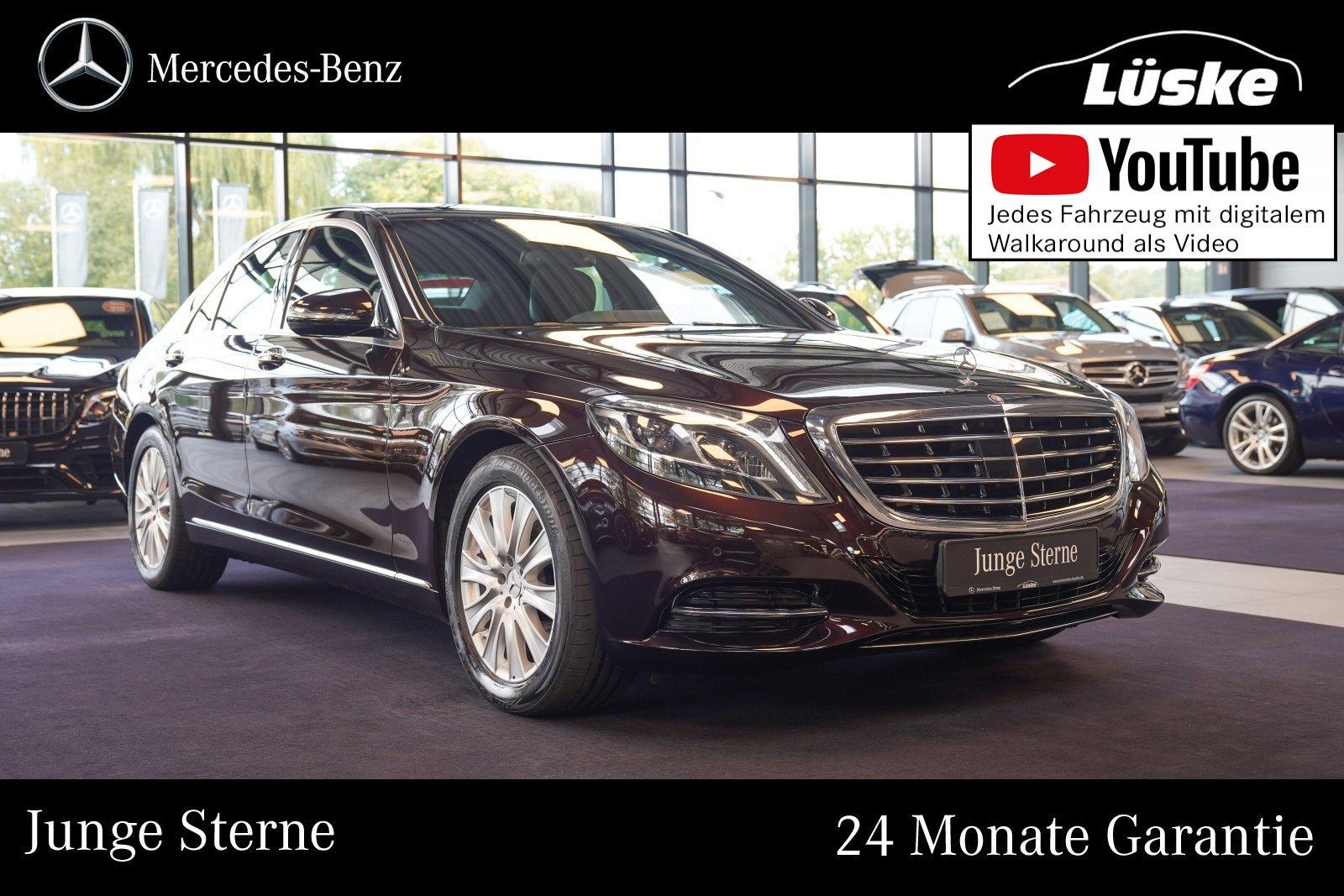 Mercedes-Benz S 350 d BT 4M Fahrassistenz Pano Keyless Memory, Jahr 2015, Diesel