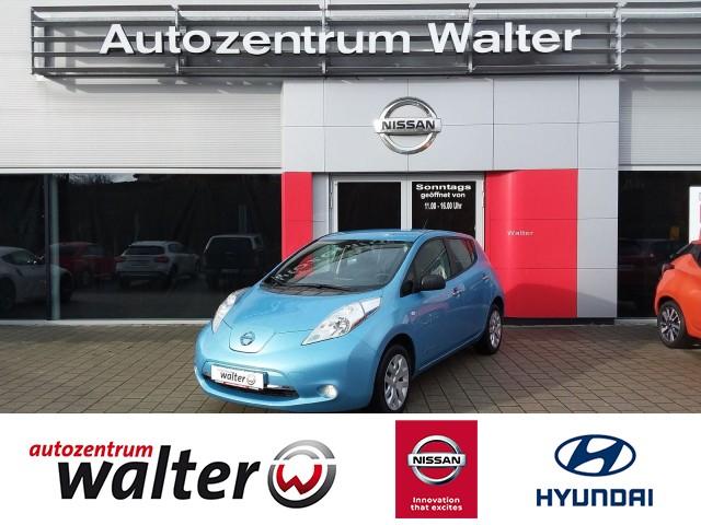 Nissan Leaf Visia, inkl. 24 kWh Batterie (Kauf), Klimaautomatik, Nebelscheinwerfer, Schnelllader, Jahr 2015, electric