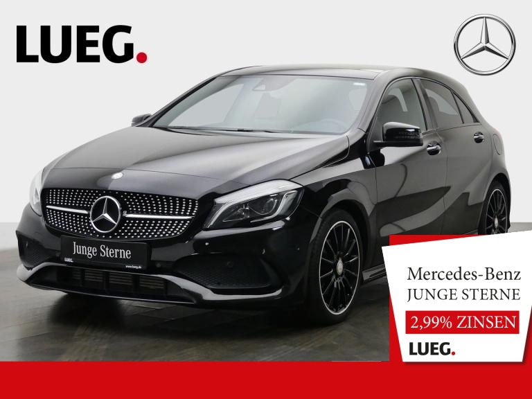 Mercedes-Benz A 200 AMG+COM+Pano+LED-HP+Night+H&K+KeyGo+Kamera, Jahr 2016, Benzin