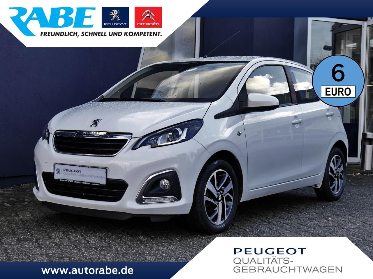 Peugeot 108 Allure 68 VTi Auto.+Sitzh.+Nebelscheinw., Jahr 2015, Benzin