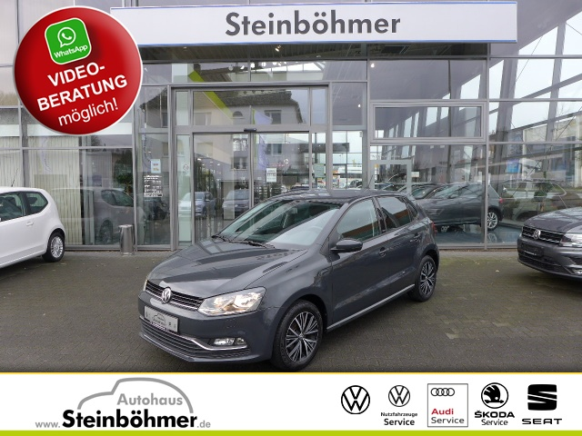 Volkswagen Polo ALLSTAR 1.0l Klima SHZ ParkPilot Bluetooth, Jahr 2016, Benzin