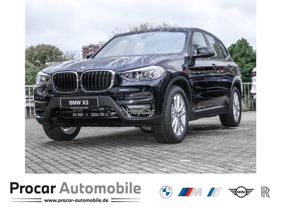 BMW X3 xDrive20d ADVANTAGE AT Navi LED Scheinwerfer Bluetooth PDC Kurvenlicht, Jahr 2020, Diesel