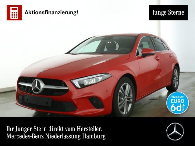 Mercedes-Benz A 200 Progressive Navi Premium LED Kamera PTS Temp, Jahr 2019, Benzin
