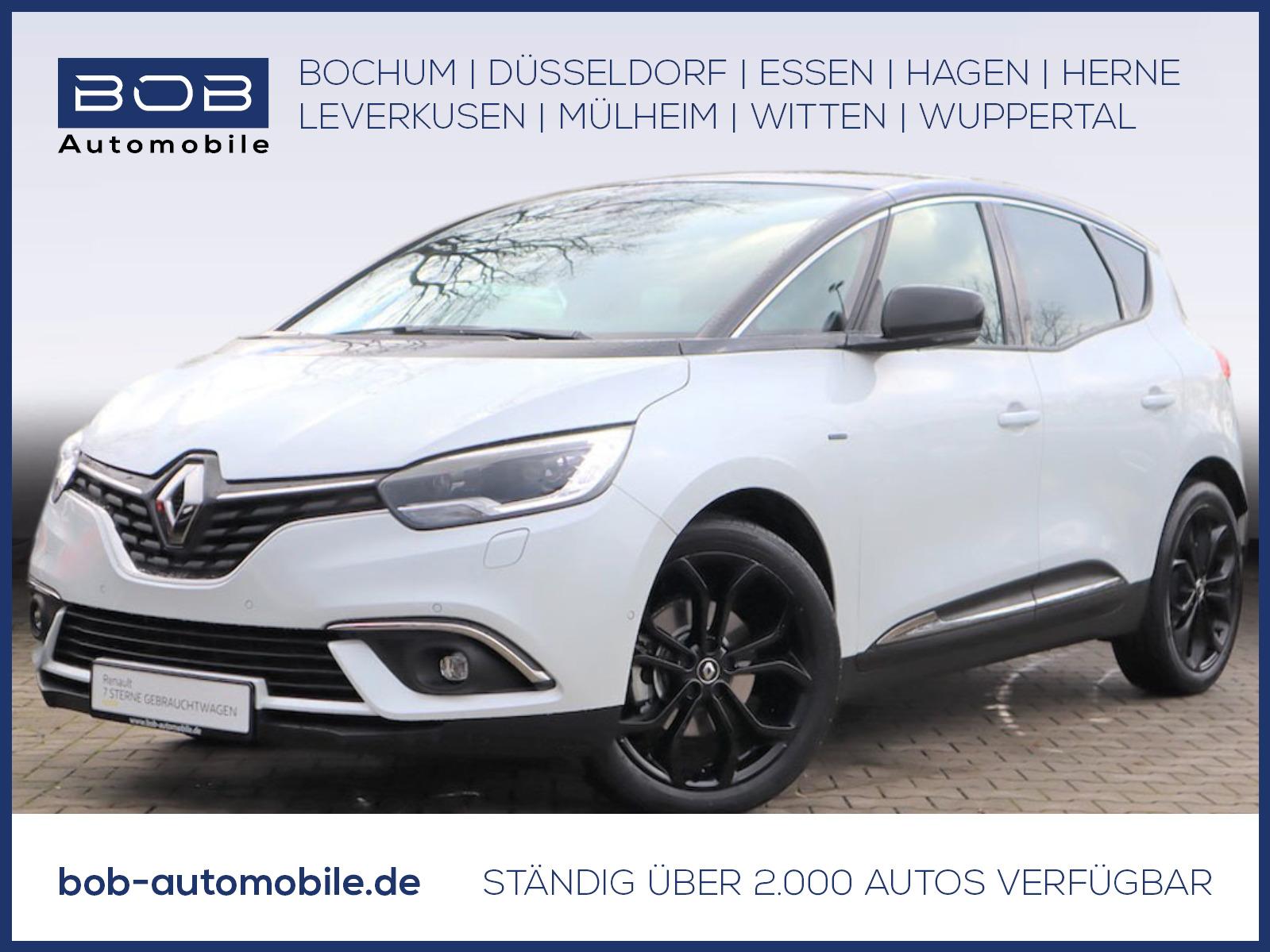 Renault Scenic BLACK Edit. TCe 140 GPF PANO SHZ PDC HUD, Jahr 2019, Benzin