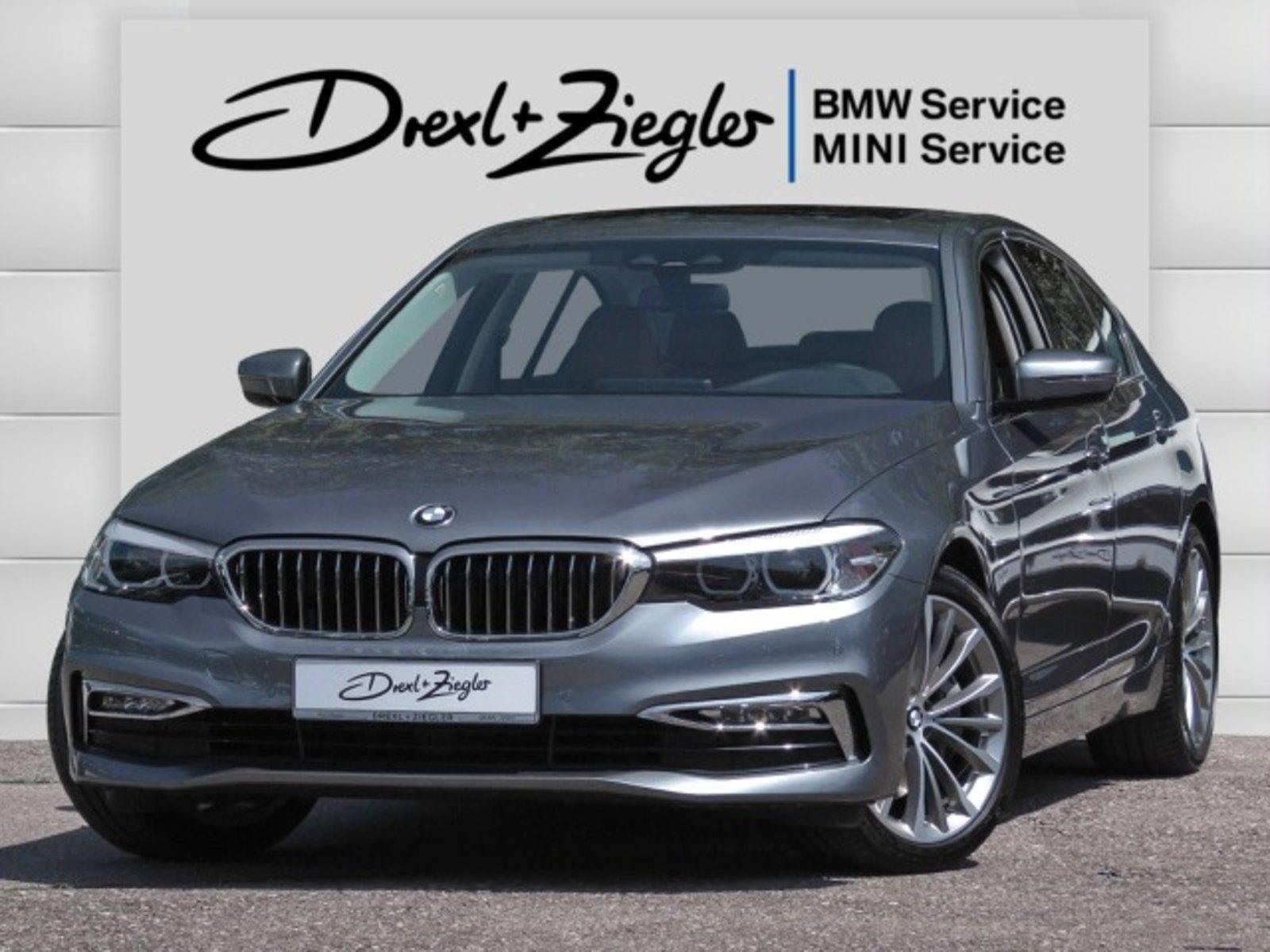 BMW 540i Lim. Luxury Line NaviProf DAB GSD Alu19 Alarm, Jahr 2017, Benzin