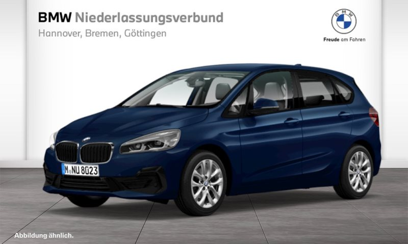 BMW 218i Active Tourer Advantage DAB LED Navi RTTI, Jahr 2020, Benzin