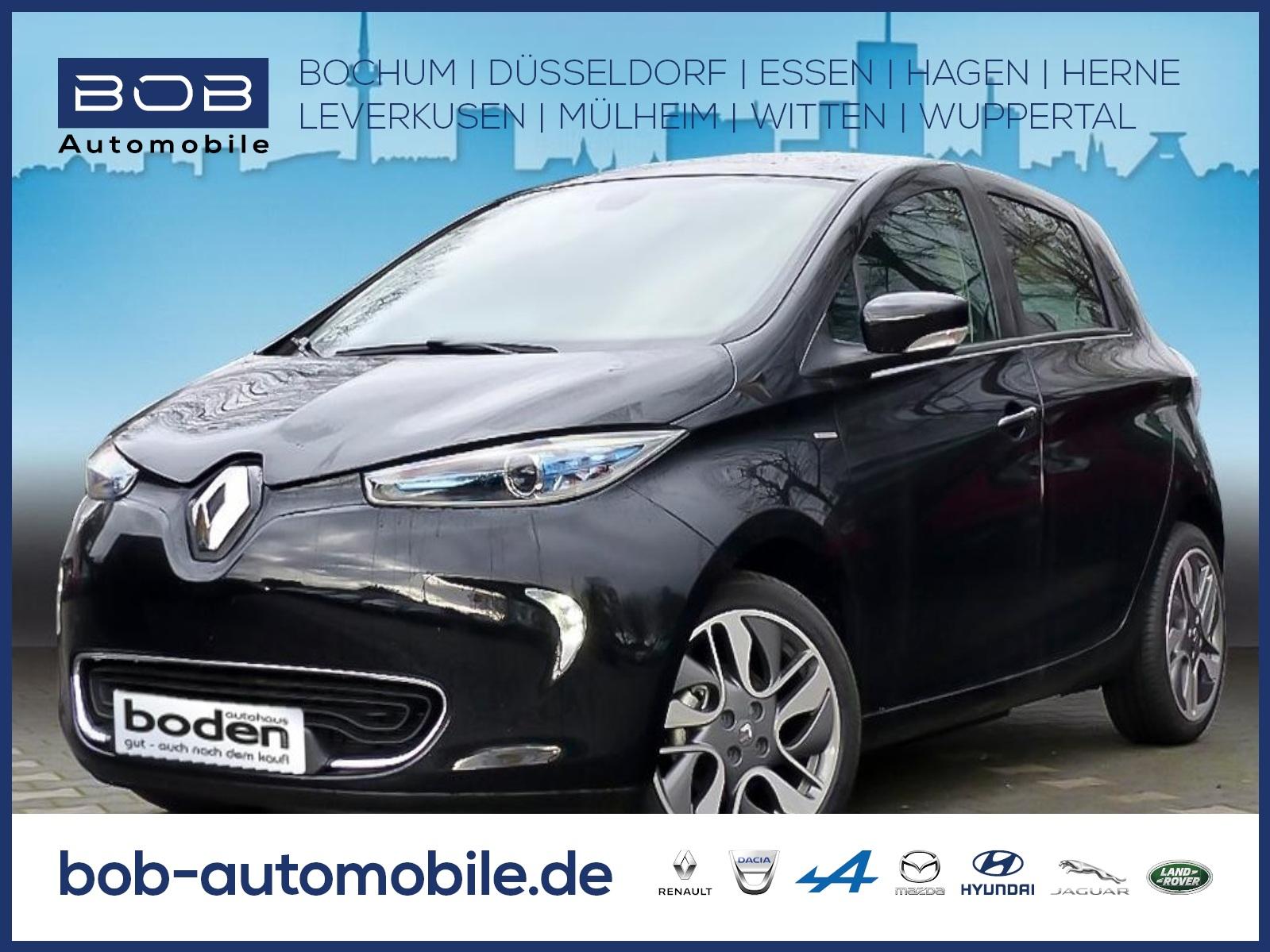 Renault ZOE LIFE Batteriemiete Option auf LIMITED Paket, Jahr 2019, Elektro