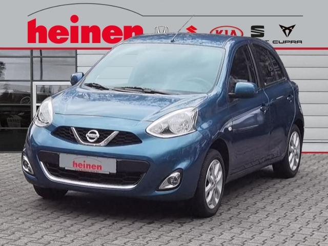 Nissan Micra 1.2 ACENTA KLIMAANLAGE FREISPRECHANLAGE, Jahr 2017, Benzin