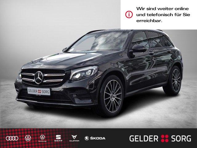 Mercedes-Benz GLC 350 GLC-Klasse GLC 350 d AMG Line *Air*AHK*Head-Up*Pano*Burmester*, Jahr 2017, Diesel