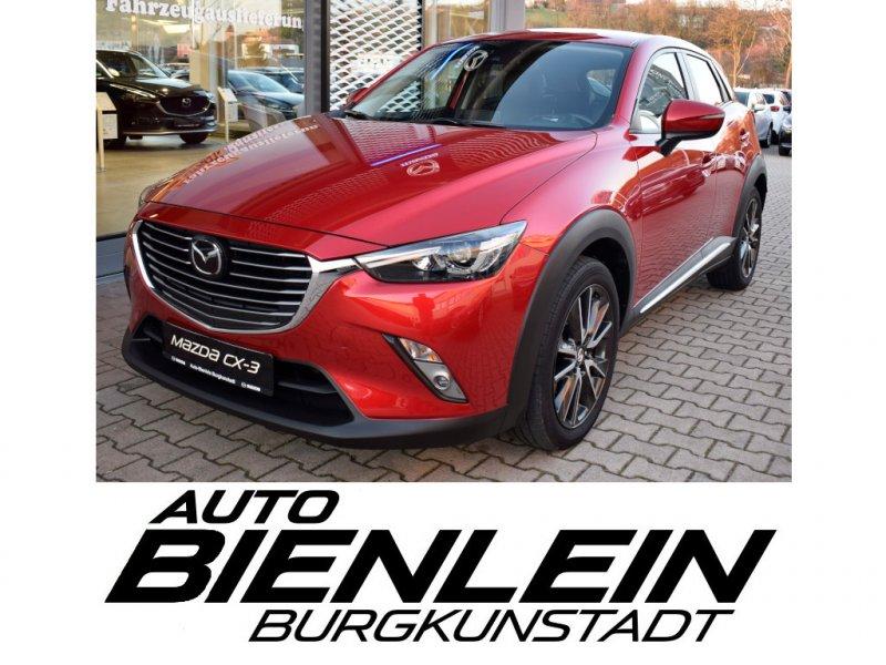 Mazda CX-3 2.0 150PS AWD Sports-Line Technik-Pak Bose Kamera AFS uvm., Jahr 2016, Benzin