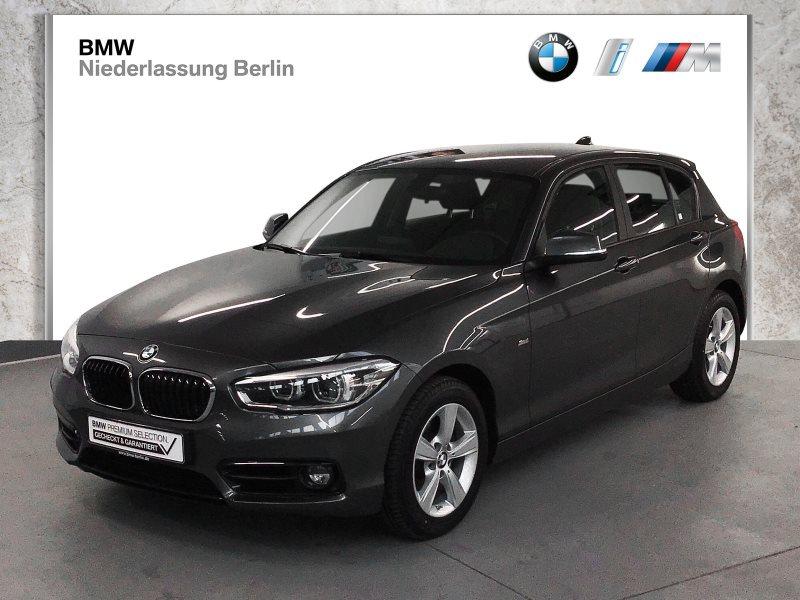 BMW 118d 5-Türer EU6 Aut. Sport Line LED Navi PDC, Jahr 2018, Diesel