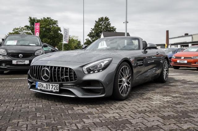 Mercedes-Benz AMG GT Roadster 7G Facelift Klappe AIRSCARF Kam, Jahr 2018, Benzin