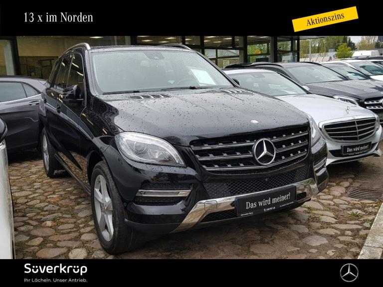 Mercedes-Benz ML 350 BE 4M Comand ILS Standheizung 360 Kamera, Jahr 2014, Diesel