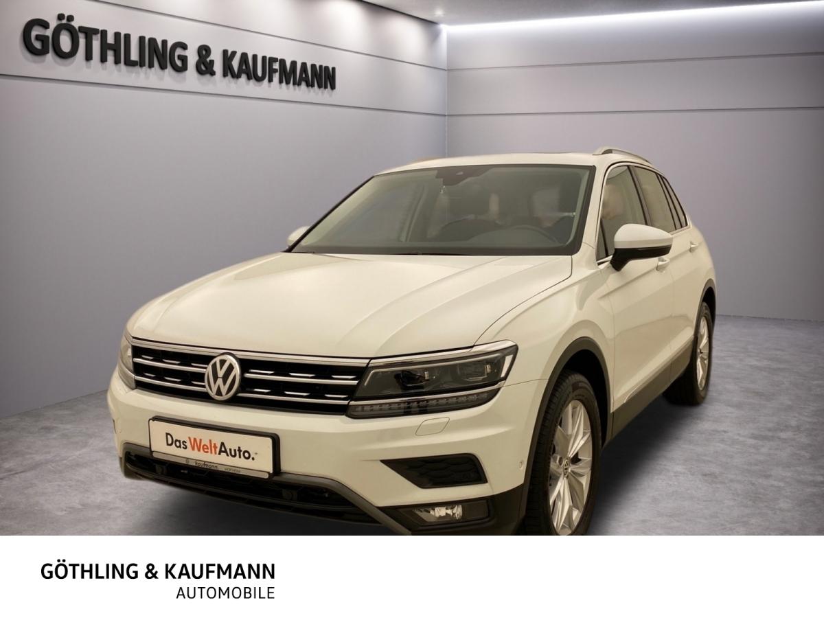 Volkswagen Tiguan Highline 2.0 TDI*LED*AHK*Pano*Ambiente*AC, Jahr 2018, Diesel
