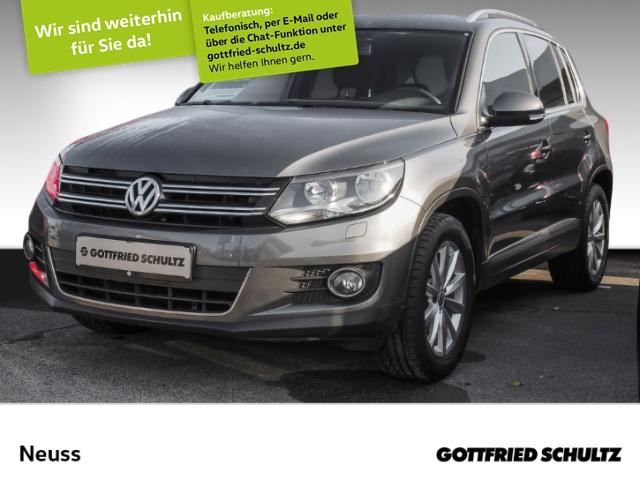 Volkswagen Tiguan 1,4 TSI NAVI 2KLIMA KAMERA 17LM SHZ LOUNGE, Jahr 2016, Benzin