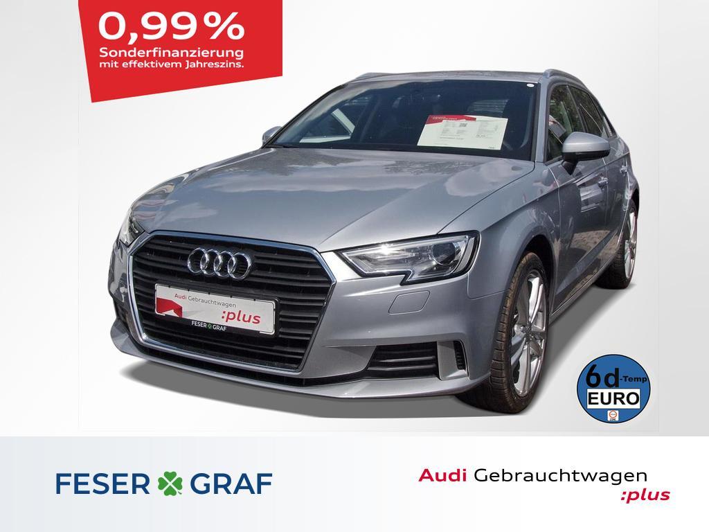Audi A3 Sportback Sport 1.6 TDI Navi/AHK/Xenon/Tempom, Jahr 2019, Diesel