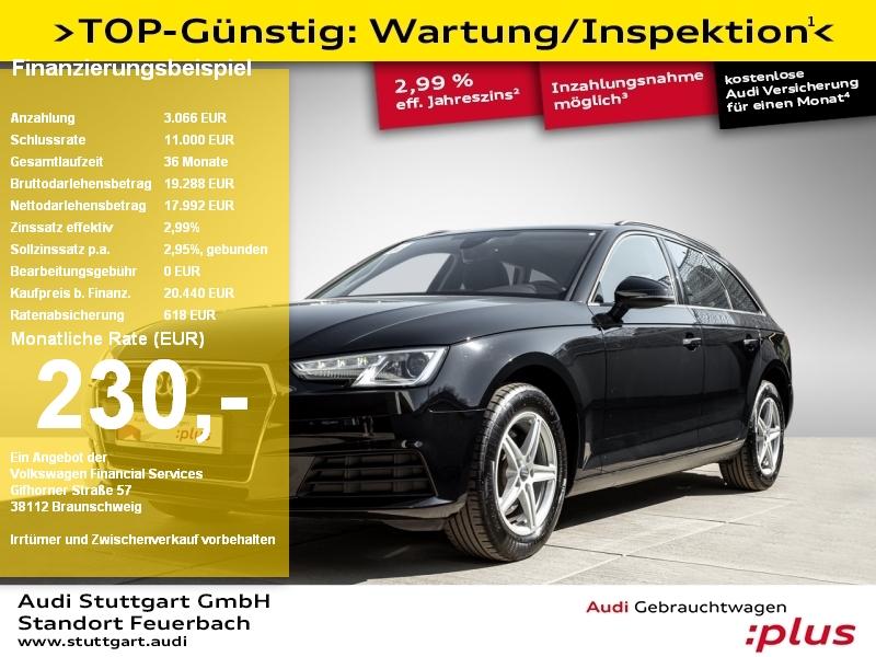 Audi A4 Avant 2.0 TDI quattro Navi Xenon PDC Sitzh., Jahr 2018, Diesel