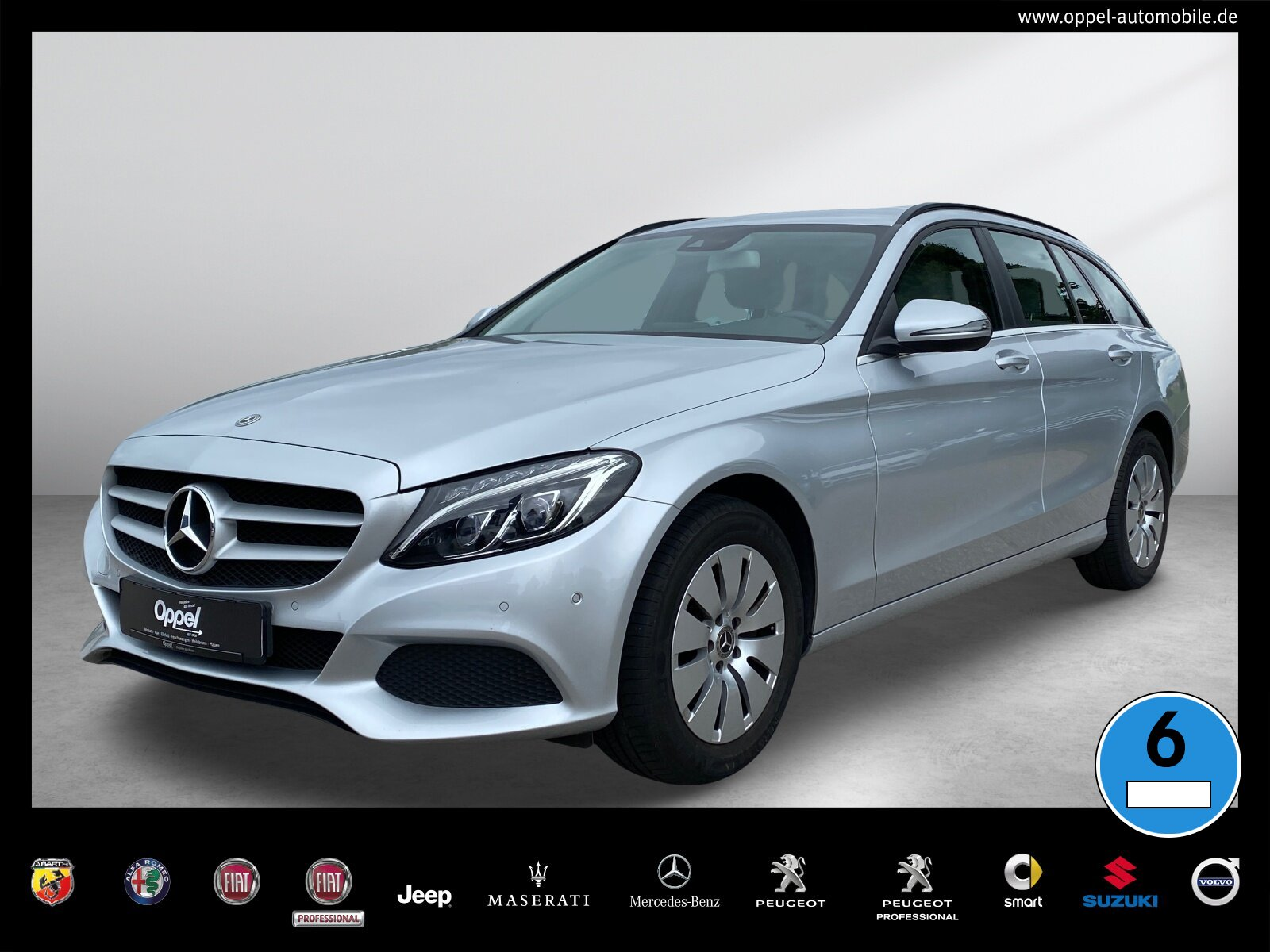 Mercedes-Benz C 220 d T-Modell LED+STANDH.+R-KAMERA+EASY-PACK, Jahr 2017, Diesel
