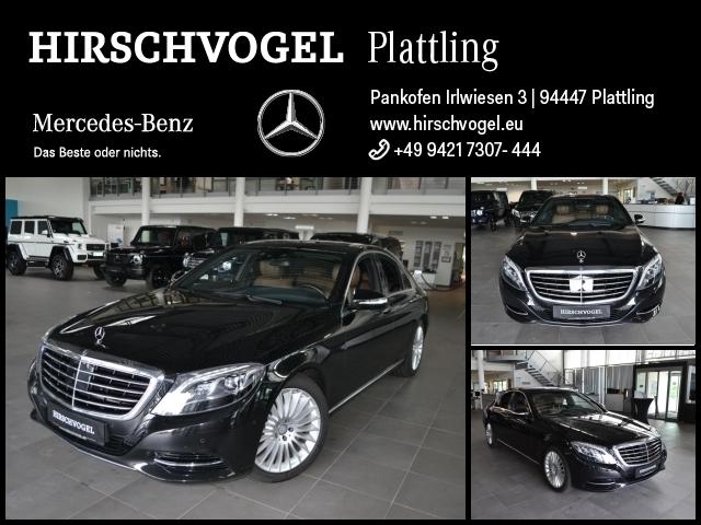 Mercedes-Benz S 350 d 4M AIRMATIC+DISTRONIC+Com+ILS+Sitzklima, Jahr 2016, Diesel