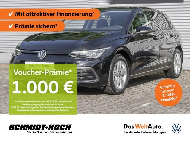 Volkswagen Golf VIII 1.5 TSI Life (EURO 6d-TEMP) LED-Scheinw., Jahr 2020, Benzin