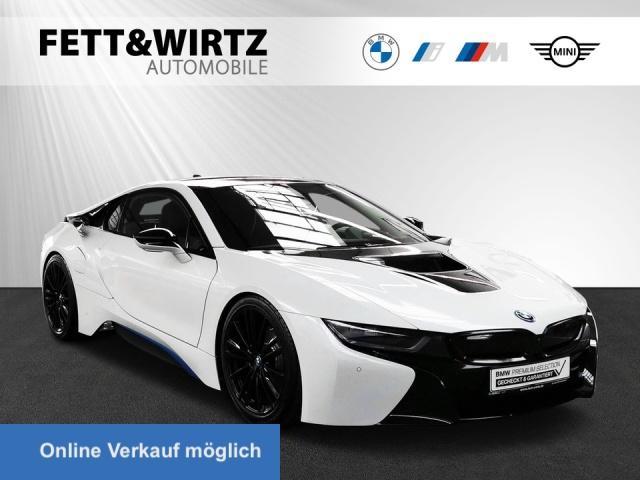 BMW i8 Coupe Navi HUD LED H/K DAB 20''LM Leder Alarm, Jahr 2018, Hybrid