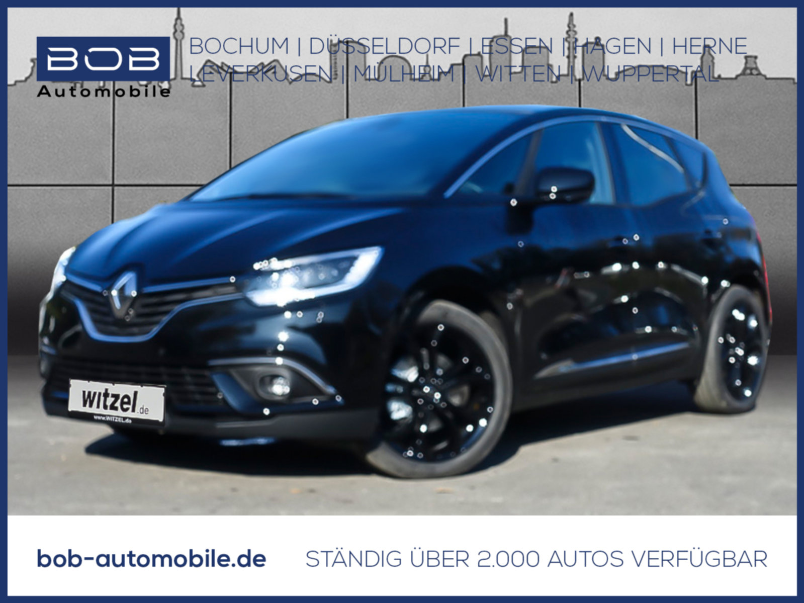 Renault Scenic BLACK Edit. dCi 150 EDC Panorama NAVI, Jahr 2019, Diesel