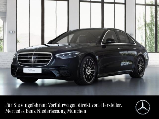 Mercedes-Benz S 500 4M AMG Burmester 3D 360° Airmat Stdhzg Pano, Jahr 2021, Benzin