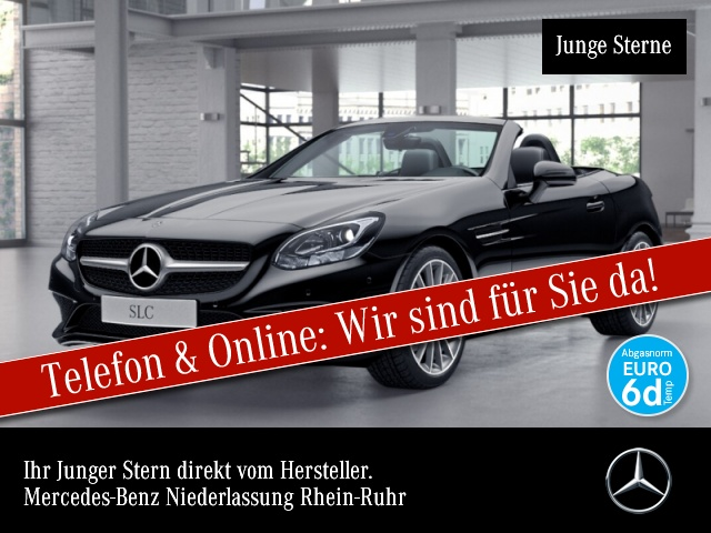 Mercedes-Benz SLC 180 Pano PTS Temp, Jahr 2018, Benzin