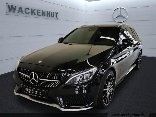 Mercedes-Benz C 450 AMG 4M STANDH+PANO+SPUR+TOTW+VERK.ASS+360, Jahr 2016, Benzin