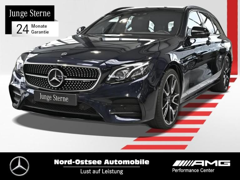 Mercedes-Benz AMG E 43 4M T Comand Multibeam AHK Distronic HUD, Jahr 2017, Benzin