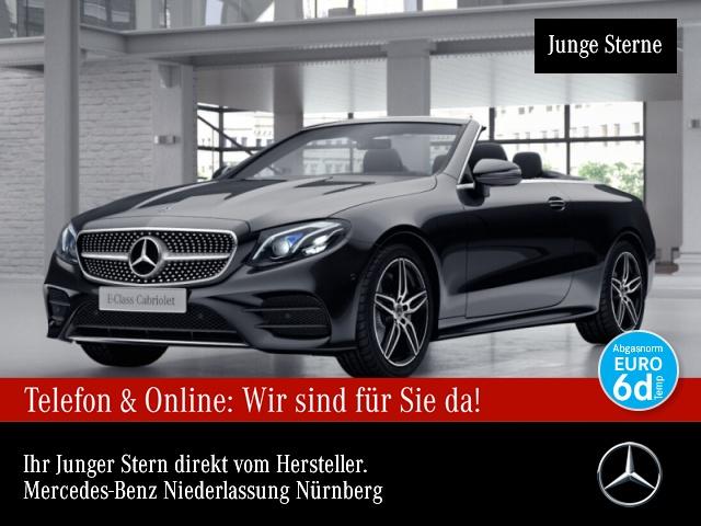 Mercedes-Benz E 220 d Cab. AMG WideScreen Multibeam Burmester 9G, Jahr 2018, Diesel