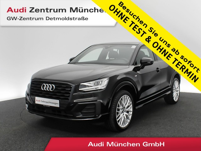 Audi Q2 1.4 TFSI Sport S line Pano AHK Virtual LED ACC Navi Teilleder R-Kamera 6-Gang, Jahr 2017, Benzin