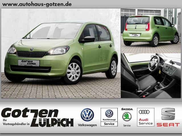 Skoda Citigo Cool Edition Green tec Klima Navi ZV, Jahr 2015, petrol