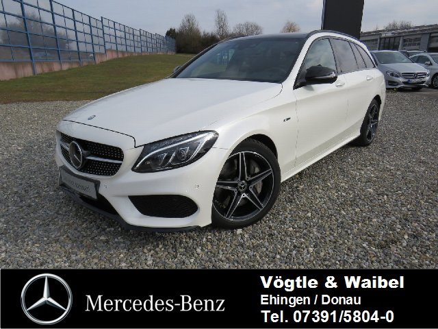 Mercedes-Benz C 450 T AMG 4M NP: 85.537 PANO+DISTR.+ILS+NIGHT, Jahr 2015, Benzin