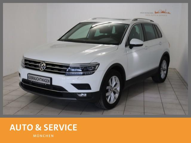 Volkswagen Tiguan 2.0 TDI BMT Highline ACC Pano AHK LED DAB, Jahr 2017, Diesel