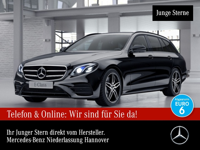 Mercedes-Benz E 350 d T AMG Fahrass 360° Multibeam Distr., Jahr 2018, Diesel