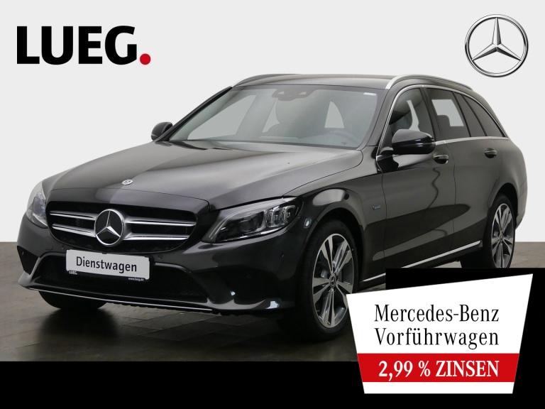 Mercedes-Benz C 300 de T AVANTGARDE+COM+MBEAM+DIST.+AHK+NP64T, Jahr 2020, Hybrid_Diesel